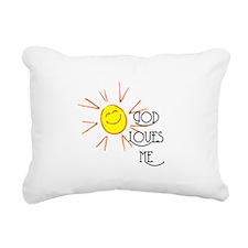 lovesme2.png Rectangular Canvas Pillow