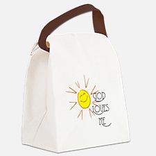 lovesme2.png Canvas Lunch Bag