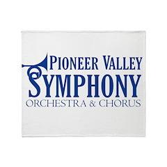 PVS Logo Throw Blanket
