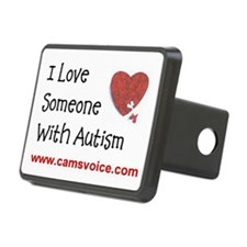 I Love Someone With Autism Hitch Cover