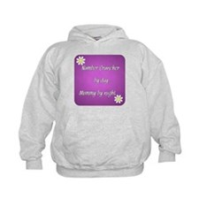 Number Cruncher by day Mommy by night Hoodie