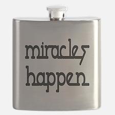 Miracles Happen Flask