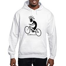 Kokopelli Mountain Biker Hoodie