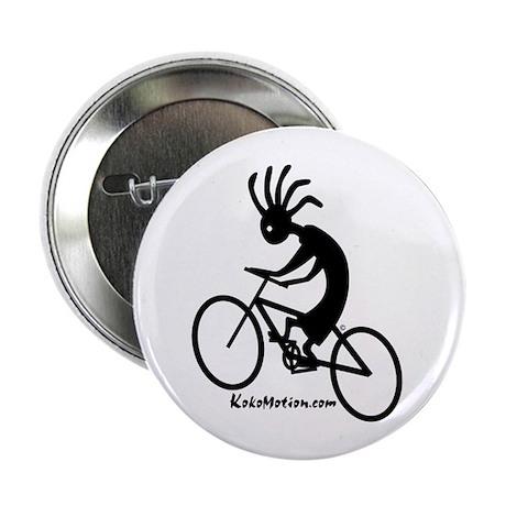 """Kokopelli Mountain Biker 2.25"""" Button (10 pack)"""