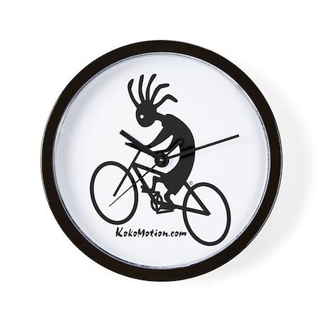 Kokopelli Mountain Biker Wall Clock