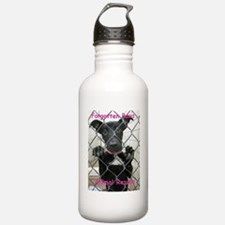 Forgotten Paws Logo Water Bottle