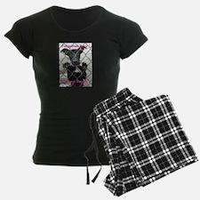 Forgotten Paws Logo pajamas