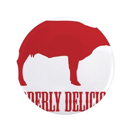 "BBQ is Udderly Delicious 3.5"" Button"