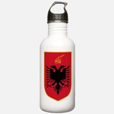 albania coat of arms Water Bottle