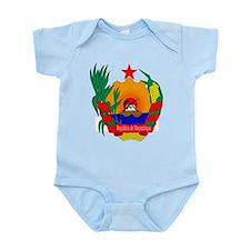 mozambique coat of arms Infant Bodysuit