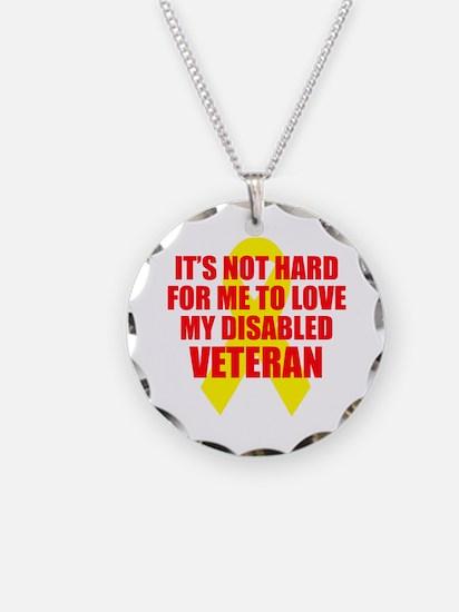 NotHardToLoveDisVet Necklace Circle Charm