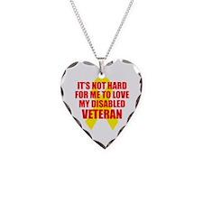 NotHardToLoveDisVet Necklace Heart Charm