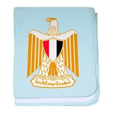 egypt coat of arms baby blanket