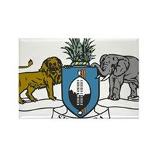 swaziland coat of arms Rectangle Magnet