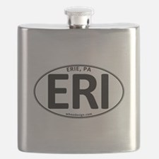 Oval ERI Flask