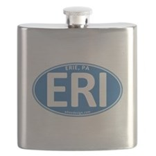 Blue Oval ERI Flask