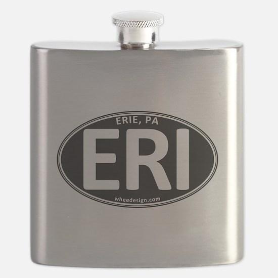 Black Oval ERI Flask