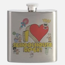 I Heart Schoolhouse Rock! Flask