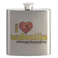 I Heart Valentin Chmerkovskiy Flask