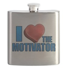 Wipeout - I Heart the Motivator Flask