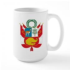 peru coat of arms Mug