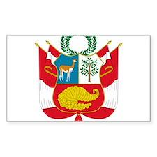 peru coat of arms Bumper Stickers