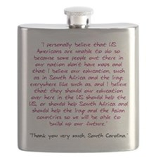 Thank you very much, South Carolina Flask