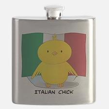 Italian Chick Flask