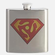 Super DJ 45 RPM Adapter Flask