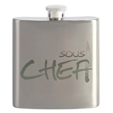 Green Sous Chef Flask