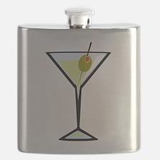Dirty Martini Flask