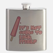 It's Not Going to Lick Itself Flask