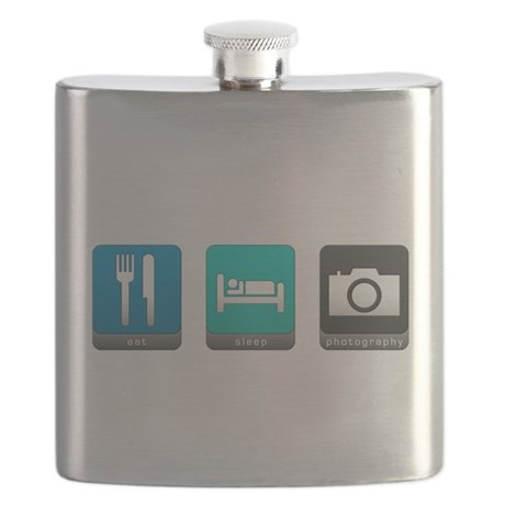 Eat, Sleep, Photography Flask
