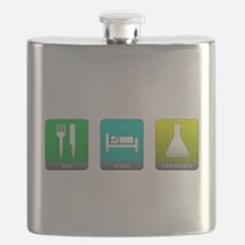 Eat, Sleep, Chemistry Flask