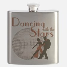 Retro Dancing with the Stars Flask
