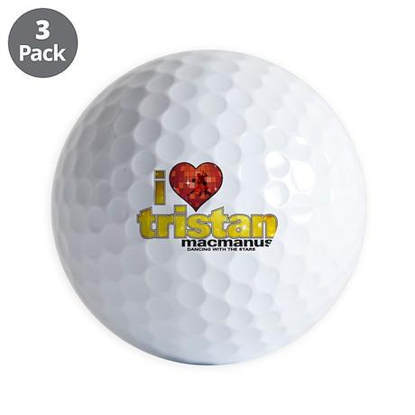 I Heart Tristan MacManus Golf Balls