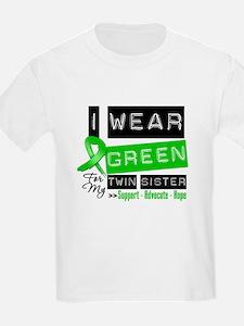 Green Ribbon Twin Sister T-Shirt