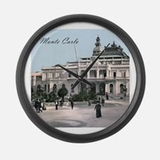 Vintage Monte Carlo Casino Large Wall Clock