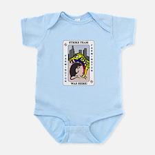 STRIKE TEAM was here Infant Bodysuit