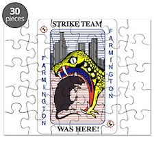 STRIKE TEAM was here Puzzle