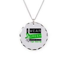 Green Ribbon Sister-in-Law Necklace