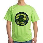 USS HAWKBILL Green T-Shirt