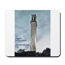 Pilgrim Monument - Blue Mousepad