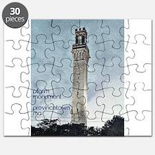 Pilgrim Monument - Blue Puzzle