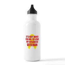 NotHardToLoveDisVet Water Bottle