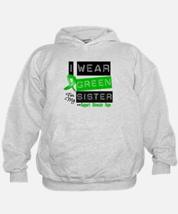 I Wear Green For My Sister Hoodie