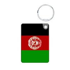 Afghanistan flag 2 Keychains