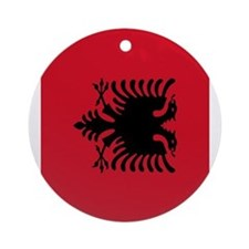 angola flag 2 Ornament (Round)