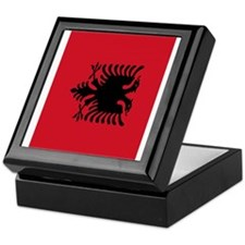 angola flag 2 Keepsake Box