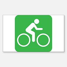 I Love to Bike Decal